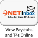 eNETInbox Login - Share Payroll Stubs and T4's on the Web